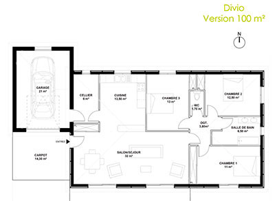 ViaVerde Construction - Divio 100 m²
