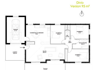 ViaVerde Construction - Divio 95 m²